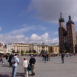Kraków i nieodłączni turyści :)
