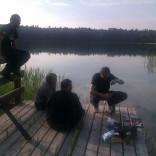 legendy mówią, że w tym jeziorze kiedyś były ryby....