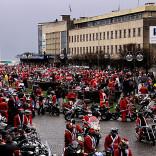 MIKOŁAJE NA MOTOCYKLACH 2011 a konkretnie 3 tys. Mikołajów :)