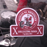 MIKOŁAJE NA MOTOCYKLACH 2012